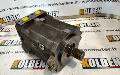 Linde motor HMV 135-02 0001 for mixing truck Eno Rossi Schneider, Spv Power